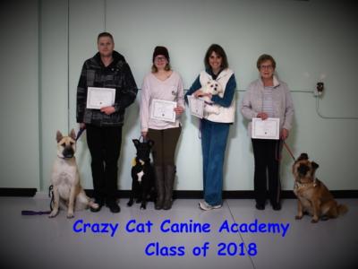 Crazy Cat Canine Academy – 2018-12-06 – Graduation